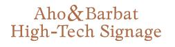 Aho & Barbat Logo